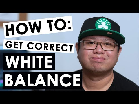 How to get correct white balance